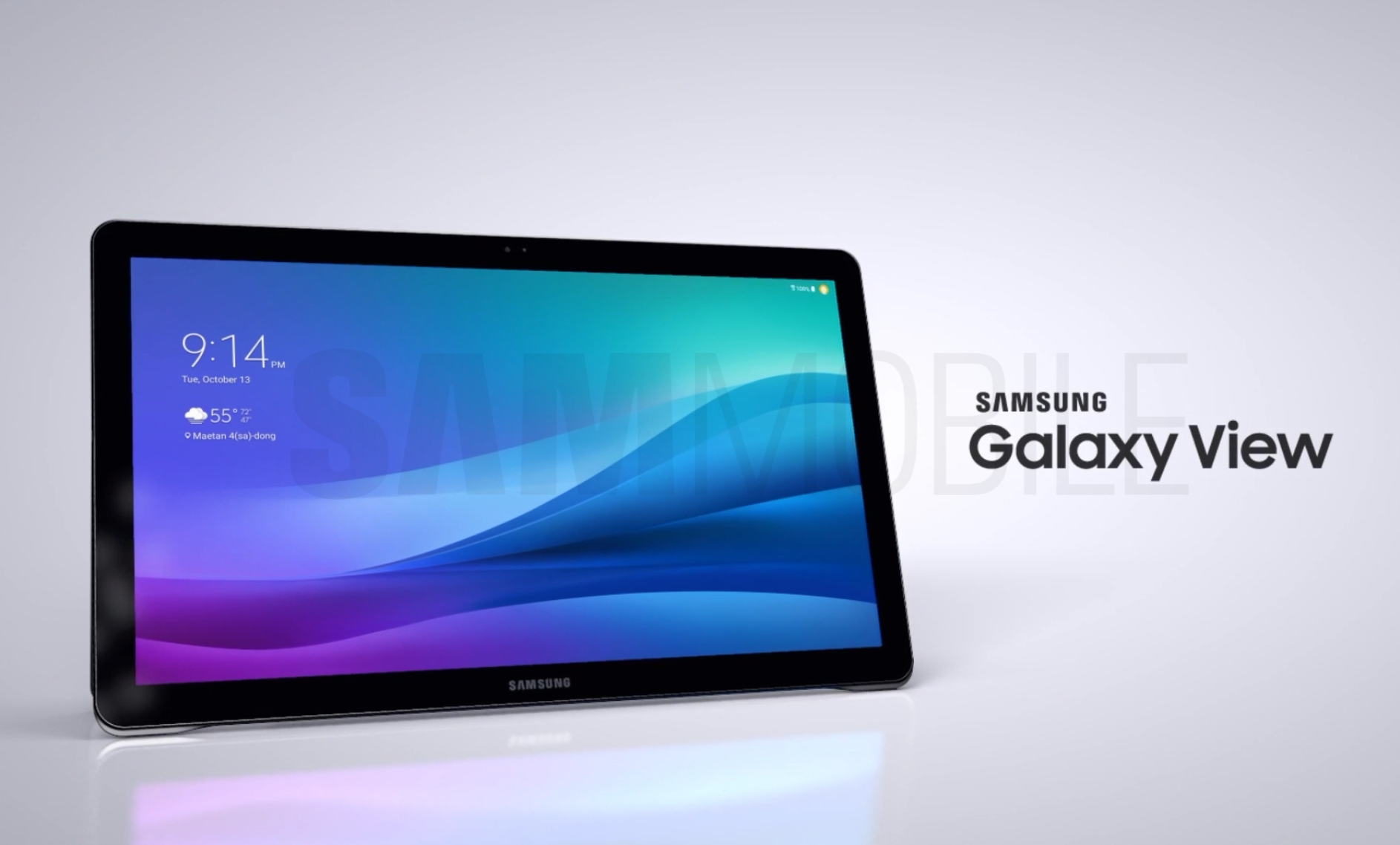 Photo of Flashing or a bad joke? Samsung's huge tablet is nearing launch