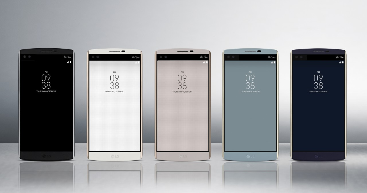 Photo of LG's new smartphone packed with screens and cameras