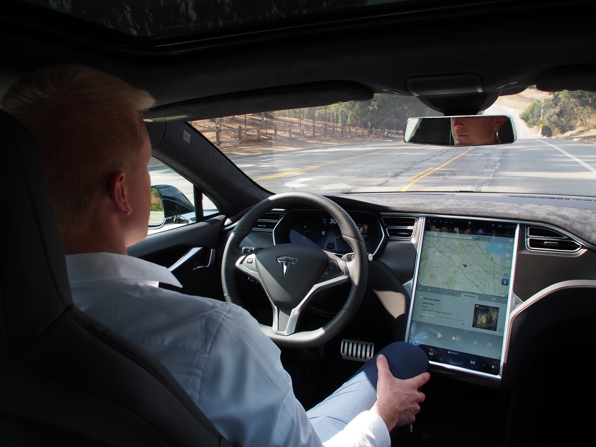 Photo of also machine tools? The autopilot in Tesla's vehicle hijacked a traffic report