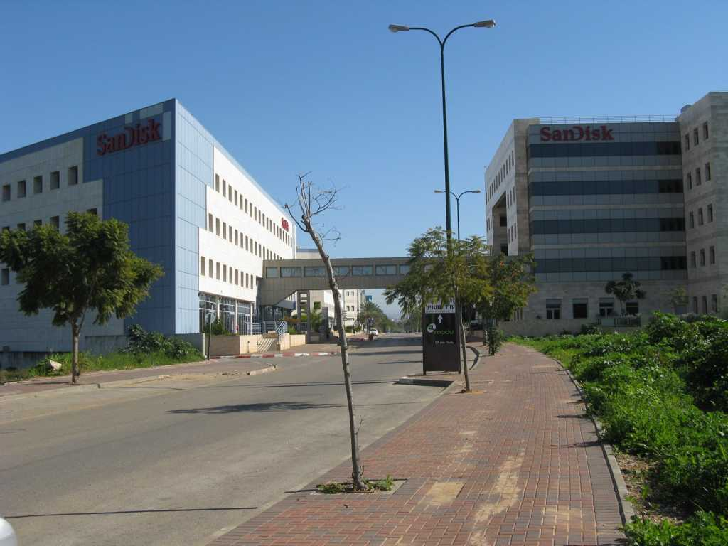 SanDisk Israel offices in Kfar Sava. How will the deal affect the hundreds of employees of the company employed in Israel? Source: wikimedia.org