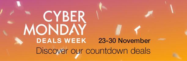 אם אתם מעדיפים דווקא את אמאזון גרמניה - שם שבוע המבצעים הגדול אמור להתחיל ב-23 בנובמבר, עם מוכוונות דווקא ל-Cyber Monday שמגיע מיד אחרי הבלאק פריידיי