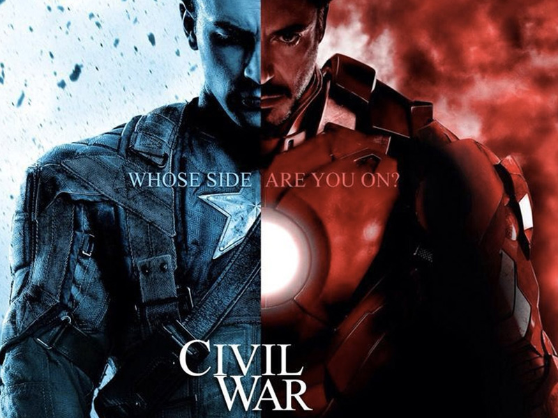 Photo of Watch the first bombastic trailer for Captain America: Civil War
