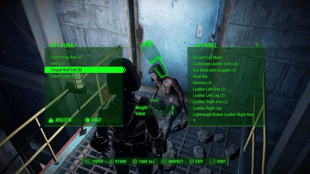 Bethesda, is not it time to move on to menus that are more comfortable and intuitive?