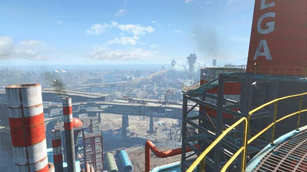 Fallout 4 על גג העולם