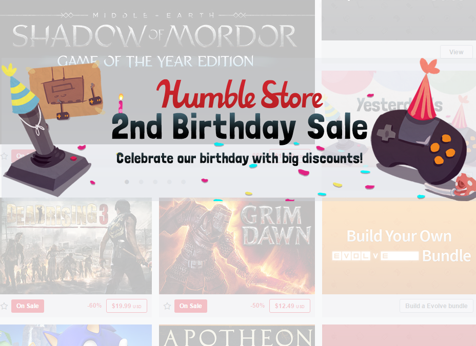 Photo of Nice winter promotions at the Humble Store