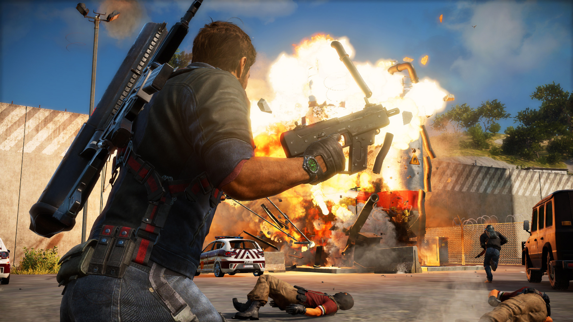 Photo of your computer ready to wreak havoc? Here are the official system requirements for Just Cause 3