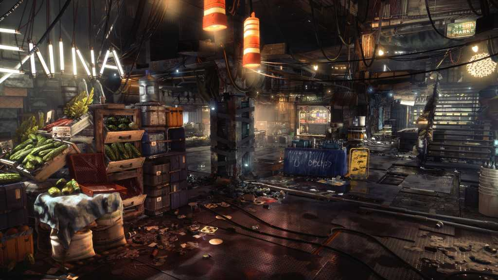 The world of Prague 2029 (the central location in which Mankind Divided will occur) needs more ripening time