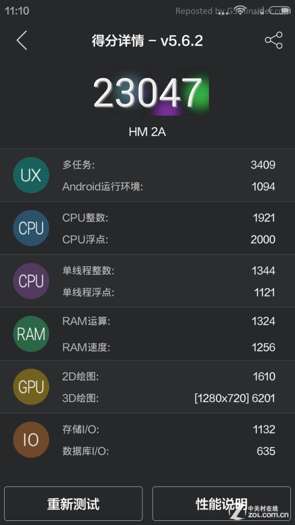 שבב ה-L1860C של ה-Redmi 2A לא בדיוק מקרין עוצמה אינסופית - אך בכל זאת דומה ביכולותיו ל-Snapdragon 400, ובמחיר כמו שלו קצת קשה לצפות ליותר מכך