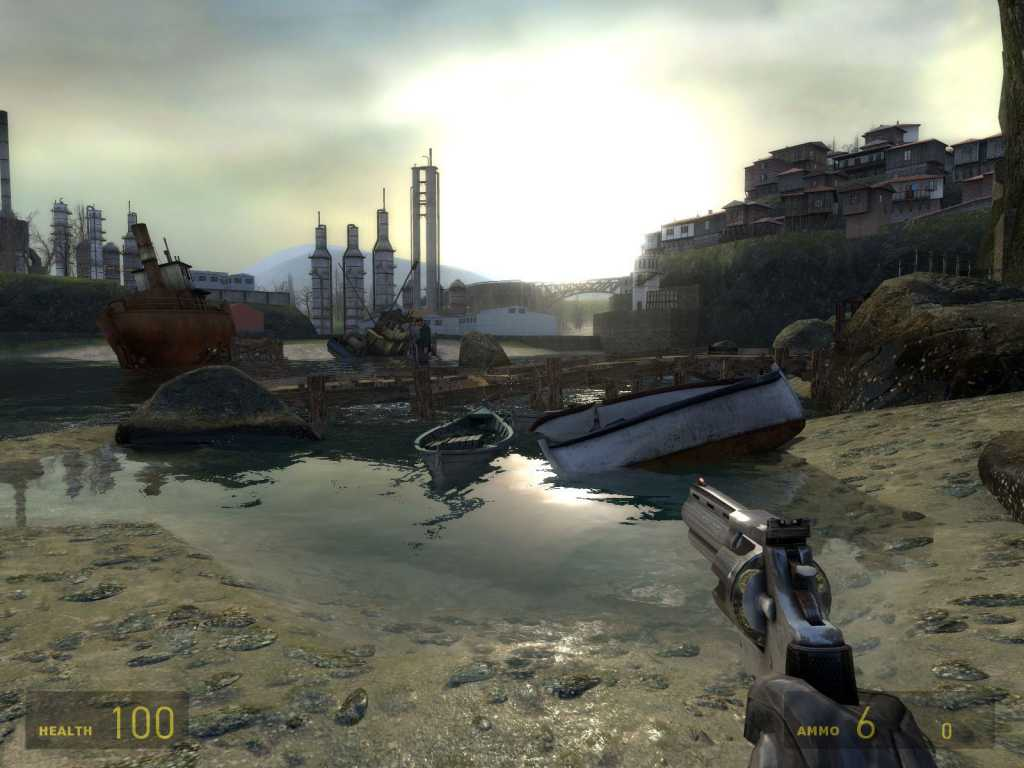 Today it may not look so amazing anymore, but trust us - in 2004 this half Life 2 look was simply phenomenal