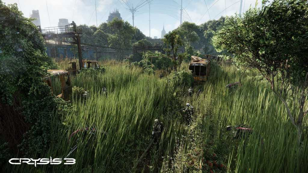 Crysis 3 - one of the first titles to offer photorealistic graphics