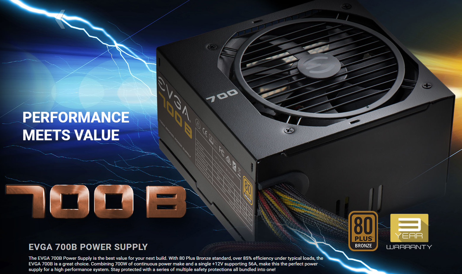 Photo of Generous Power Supply at Affordable Price: EVGA has an interesting offer for computer components