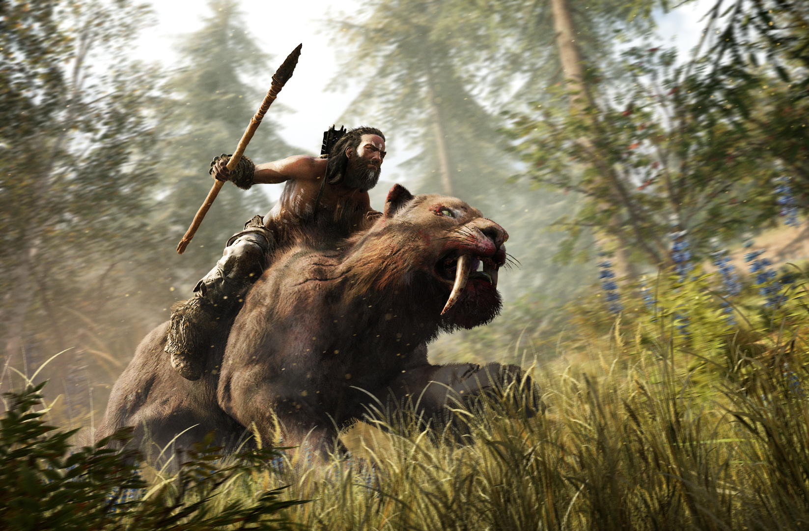 Photo of Watch the excellent gaming trailer for Far Cry Primal