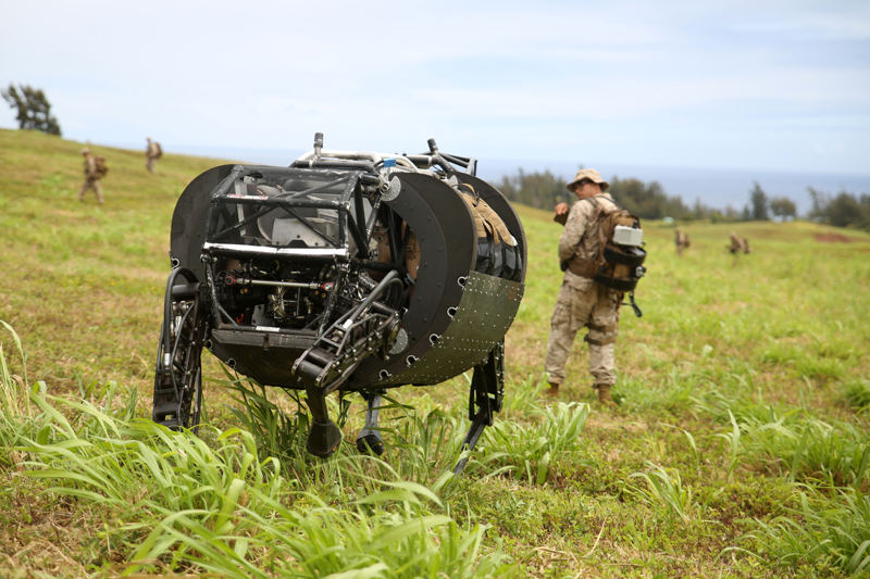 Photo of Returning to the Hotel: In the United States Army are dissatisfied with Google's freight robot