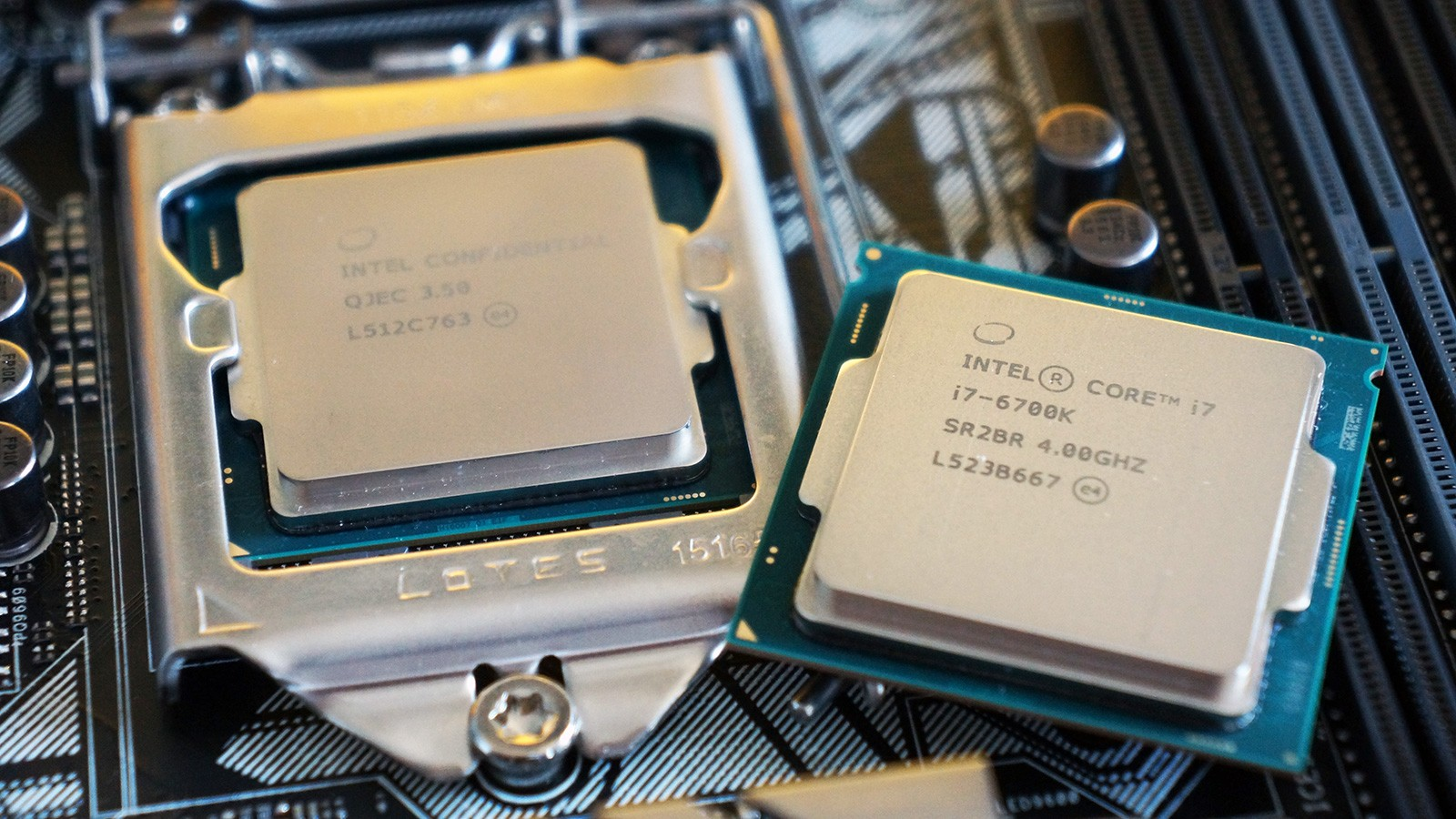 Photo of Intel sells the bug in the SkyLake processors, and MSI already has a fix for it