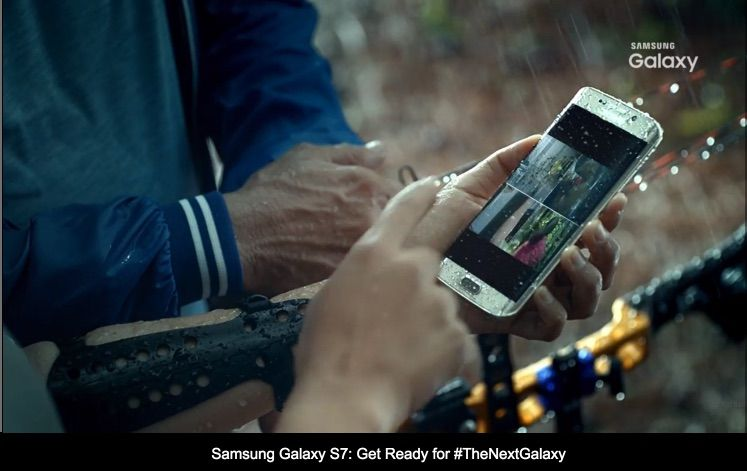 Photo of official video confirms: Galaxy S7 will be waterproof