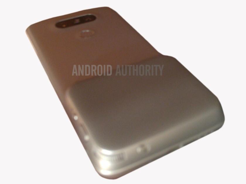 תמונה (מטושטשת ונוראית) של מה שעשוי להיות מודול המצלמה התחתון של ה-G5 מקור: androidauthority.com