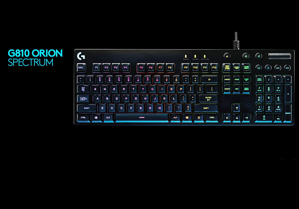 Photo of Little Sister: The Logitech G810 Orion Spectrum keyboard is revealed