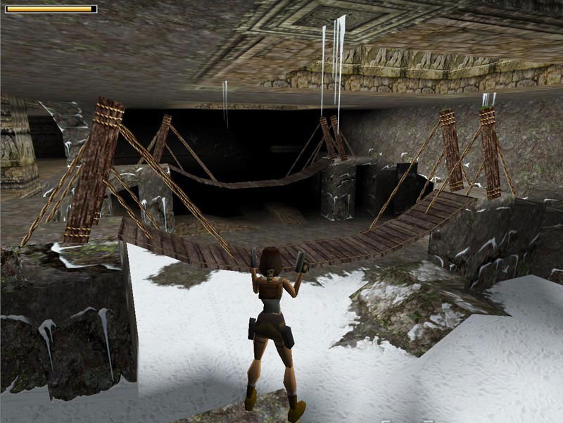 The original Tomb Raider - has become a huge hit