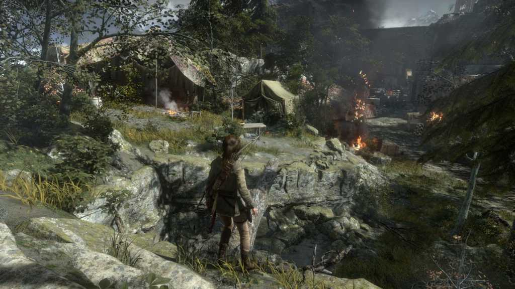 If you have a powerful enough system, and appropriate knowledge in the graphics settings in modern games - Rise of the Tomb Raider can provide phenomenal visual characteristics