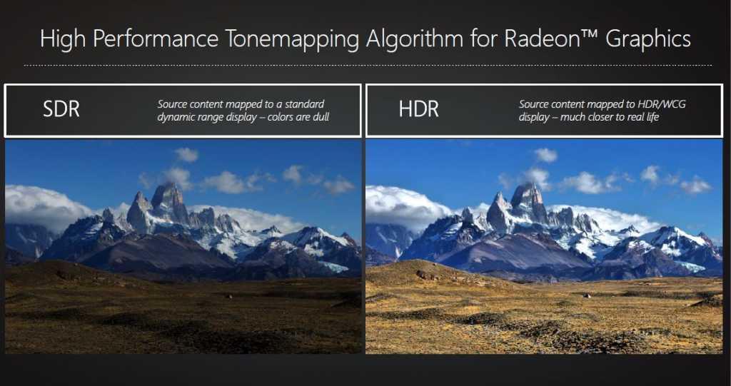 היכונו לשמוע את המונח HDR באופן תכוף בעולם אמצעי התצוגה