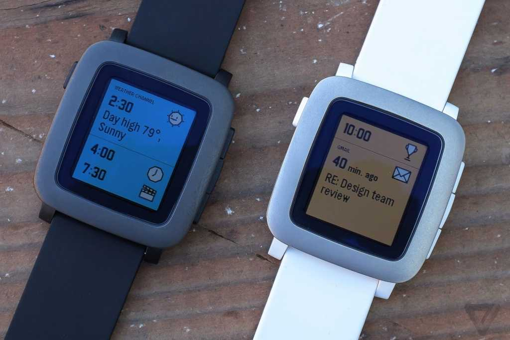 ה-Pebble Time מקור: theverge.com