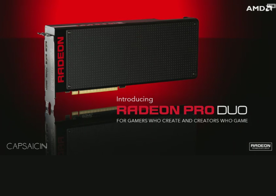 Photo of the new virtual reality king: AMD launches the Radeon Pro Duo