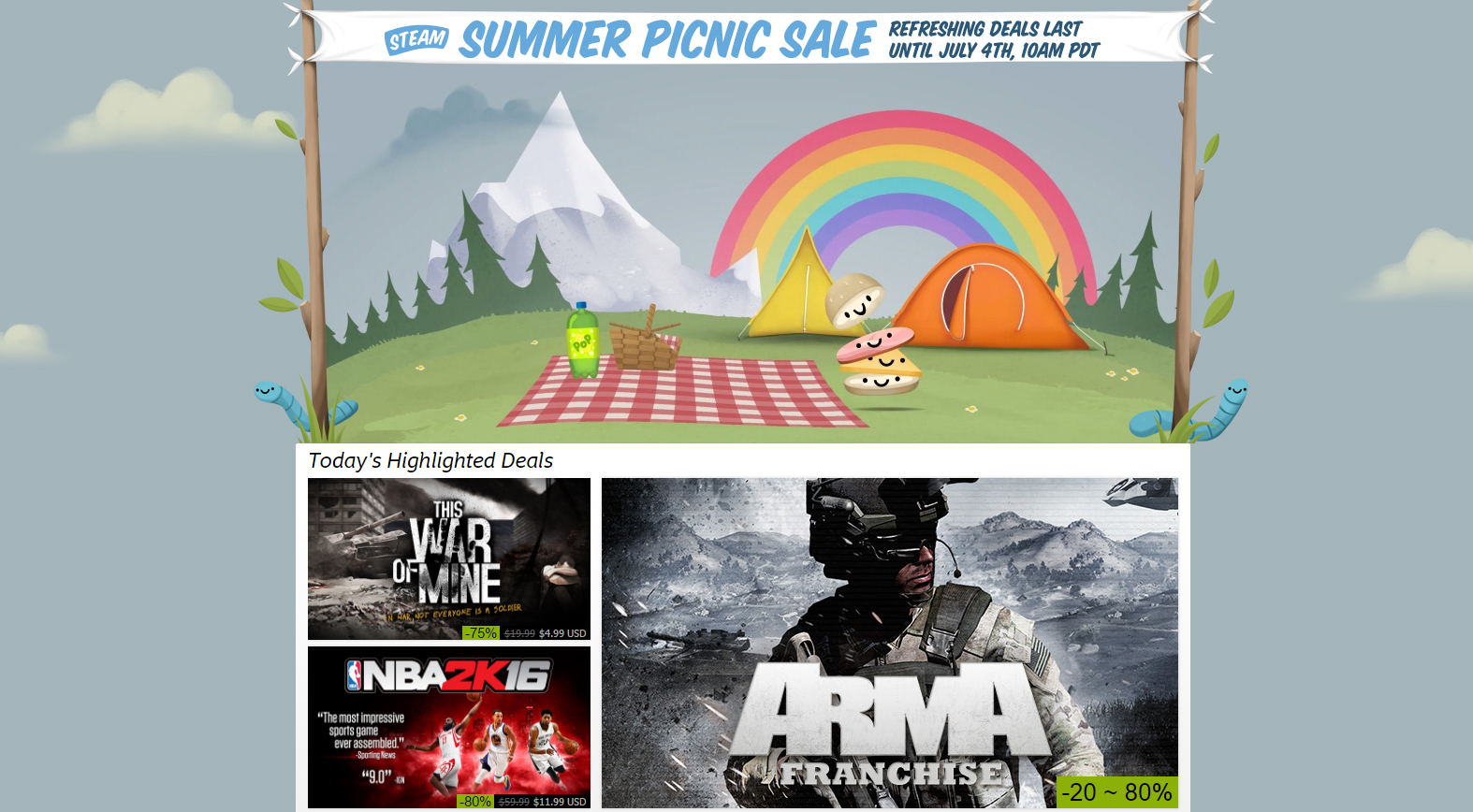 Photo of Summer is finally here: Steam's big gaming deals have begun
