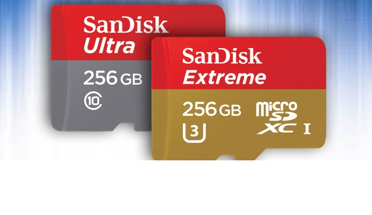 Photo of loads of volume at your fingertips: SanDisk launches a pair of microSD cards at 256GB