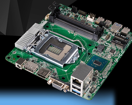Photo of ASRock motherboard will allow you to build a miniature computer with a powerful desktop processor