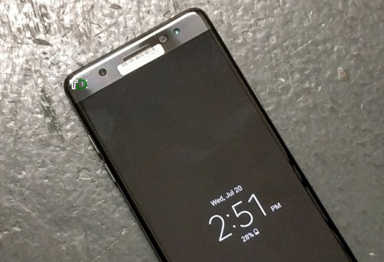 Photo of Watch: Galaxy Note 7 Retina Scanner in Purpose View