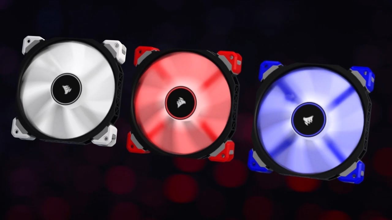 Photo of Corsair features innovative magnetic levitation-based cooling fans
