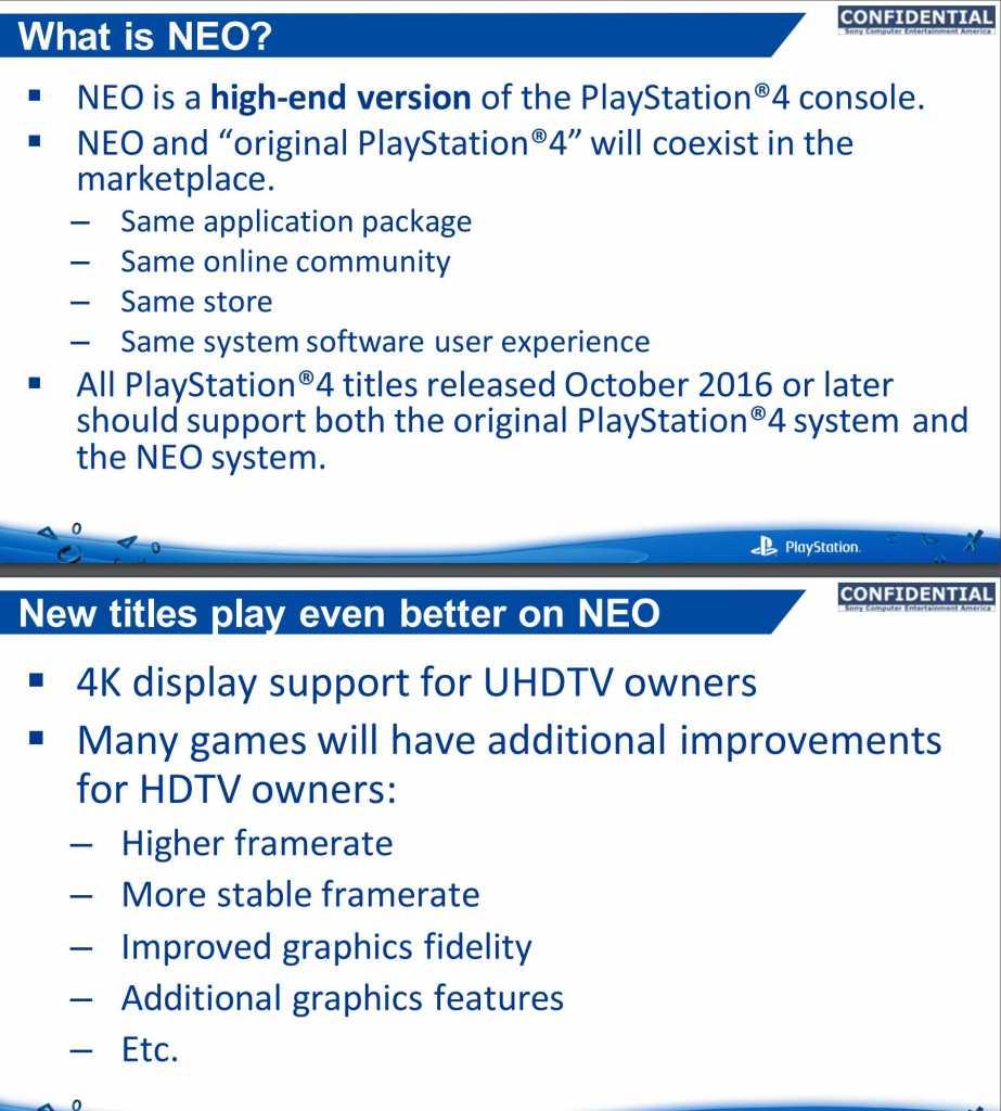 הדלפה PS4 Neo 1