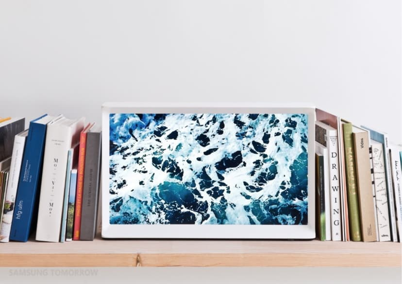 Photo of Samsung introduces: TV which is almost a work of art