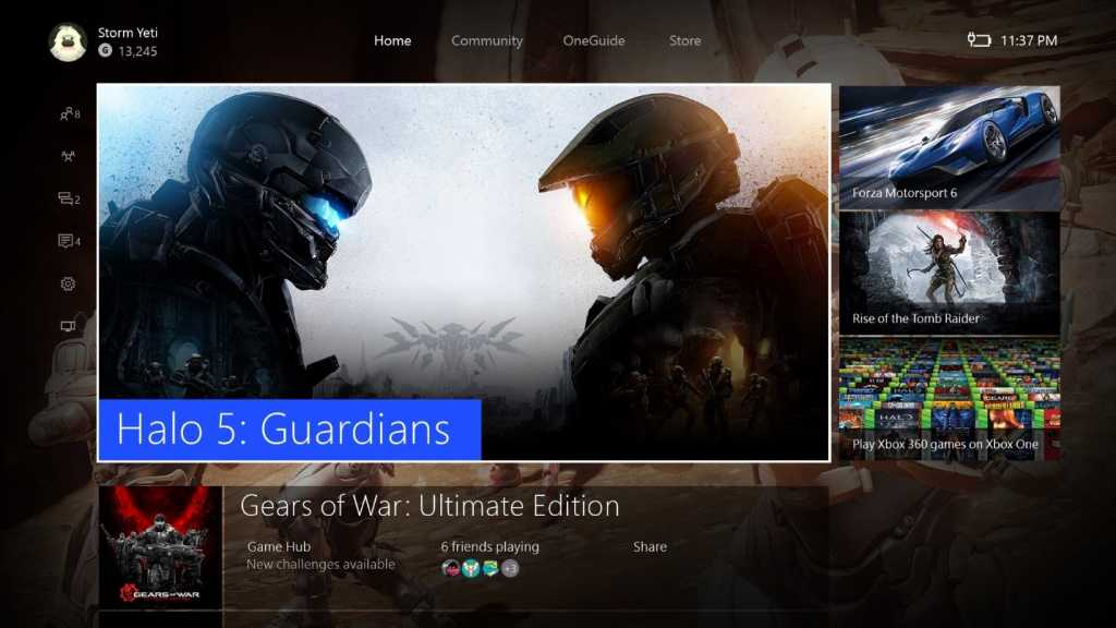 The Xbox One is updated and supported for background music