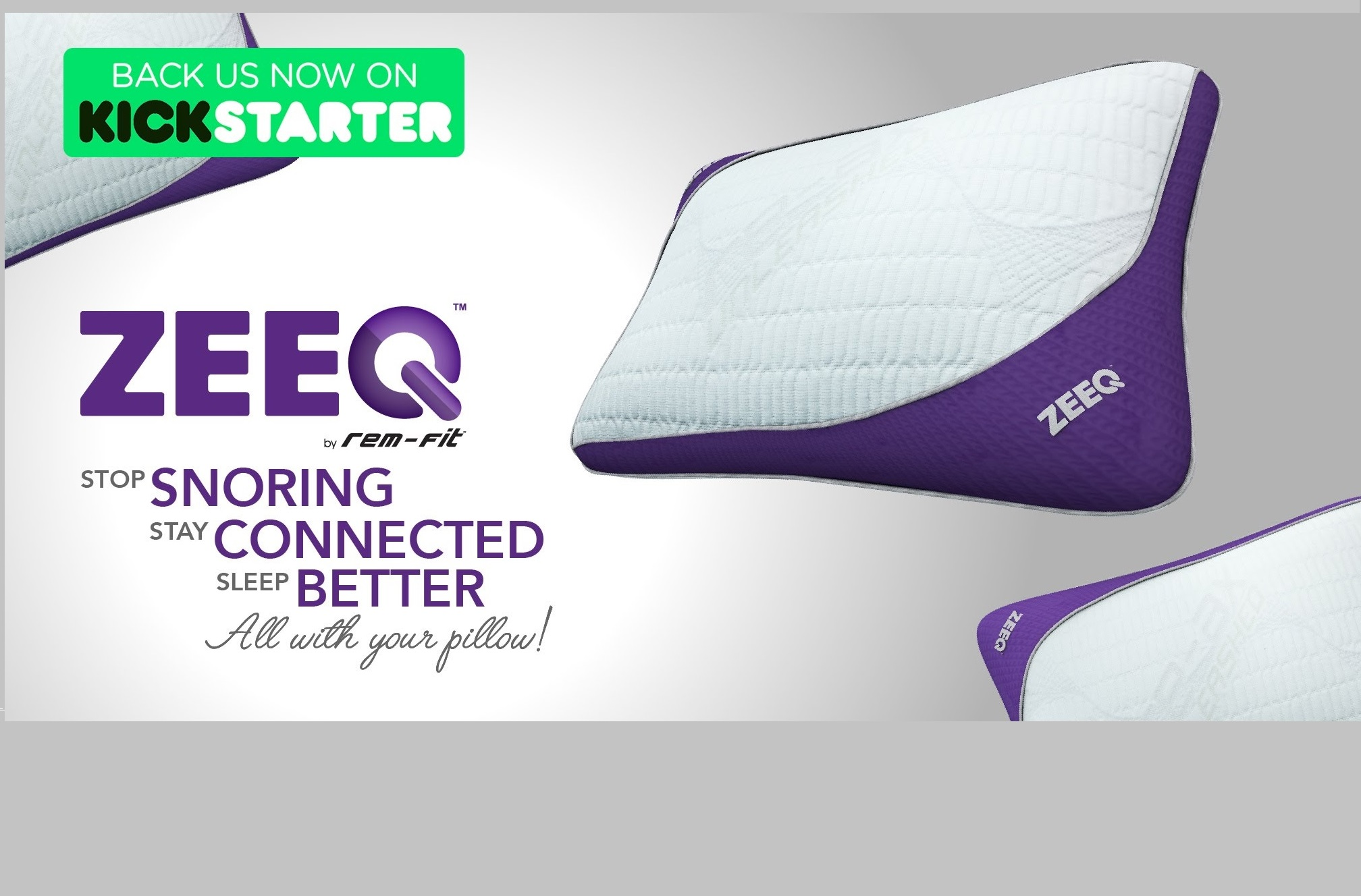 Photo of this is no longer a dream: Zeeq is the smart pillow that will make you stop snoring