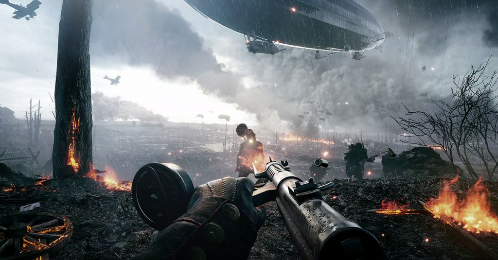 So far, the Battlefield 1 looks impressive and absolutely refreshing