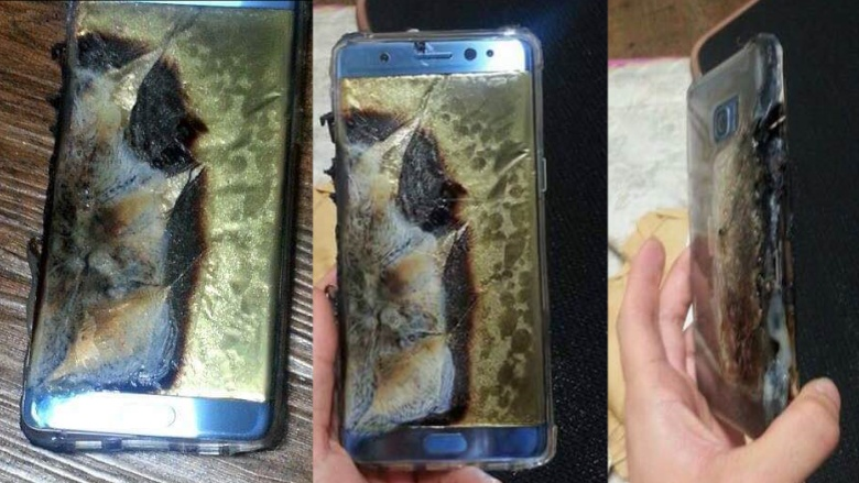 One documented victim of the problem in Note 7