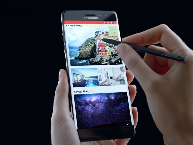 Photo of Advanced Version: Galaxy Note 7 will also be offered with 6GB of RAM and 128GB for storage