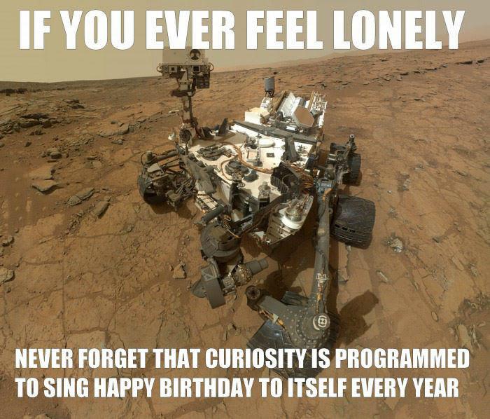מי יודע, אולי המשחק הזה יסייע ל-Curiosity להגיש קצת פחות בודד