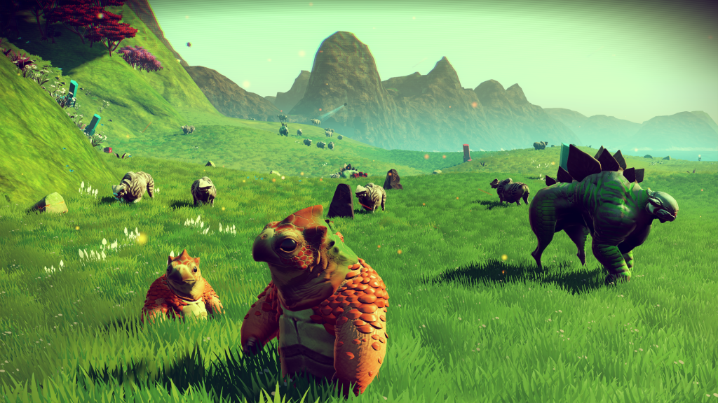 Variety of creatures and plants (from the game site)