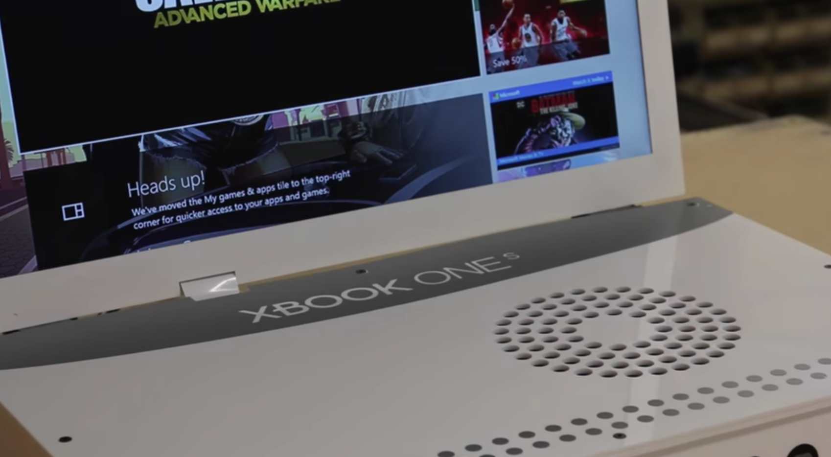 Photo of Watch: The Xbox One S turns into a laptop, and it feels pretty sane and logical