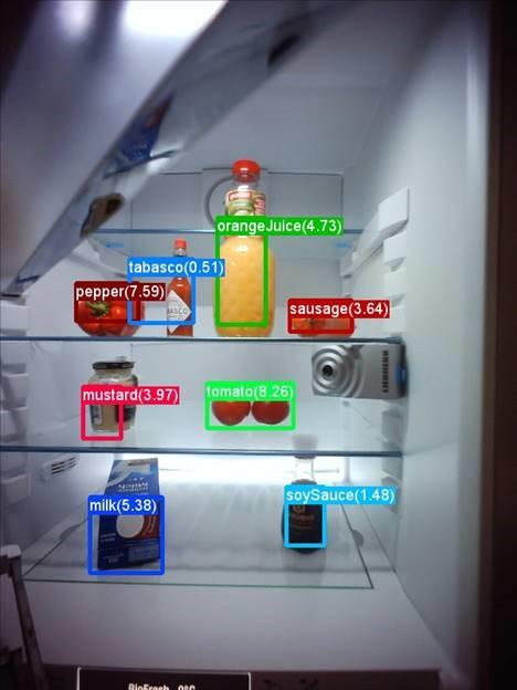 טכנולוגיית עיבוד התמונה במקרר של ליבהר (צילום: מיקרוסופט)