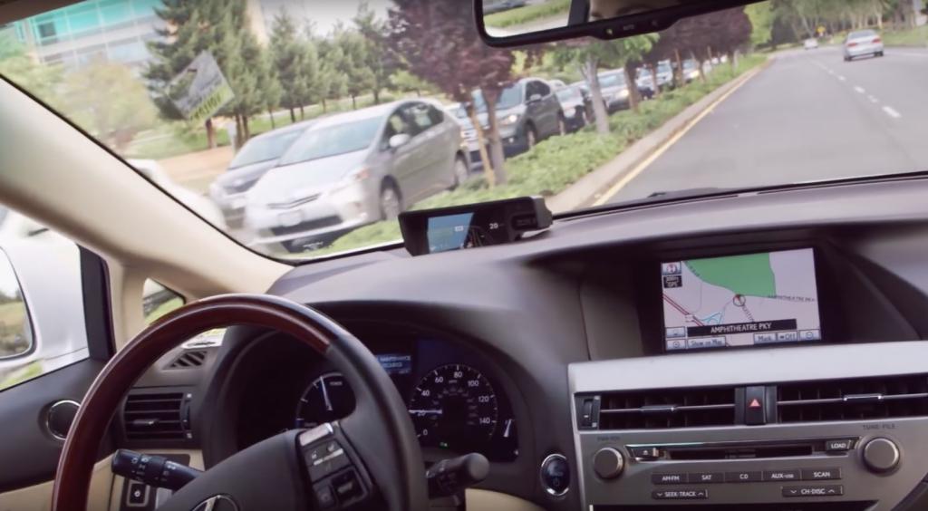 מכוניות הלקסוס של גוגל מבפנים