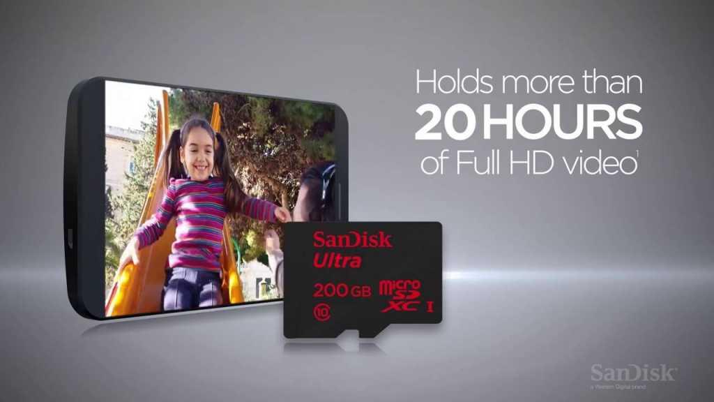 200GB microSD card