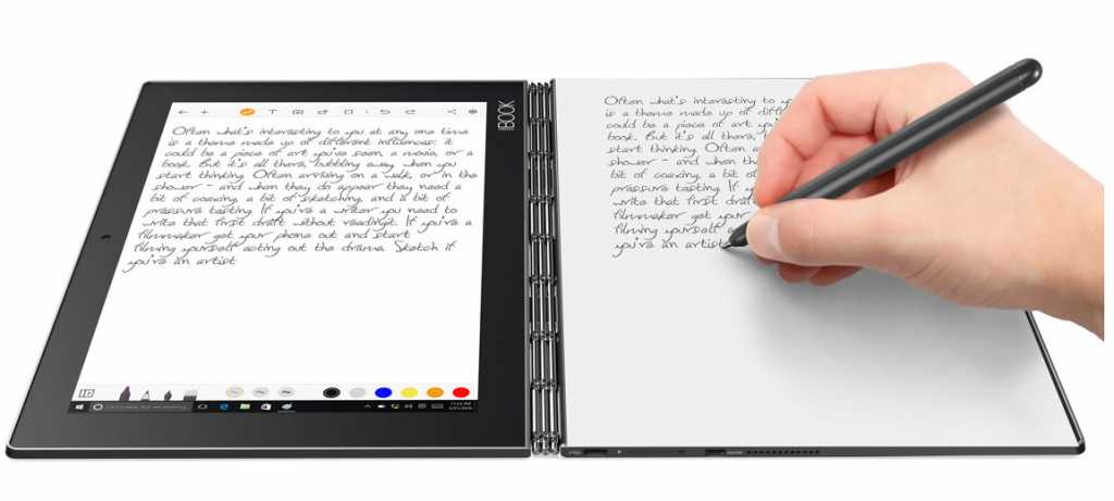 An interesting ability is to automatically digitize a sheet of paper on the touch pad - but this will require refilling ink and dedicated pages that are not included in the price of the product, to the best of our understanding