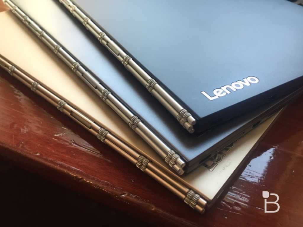 The Yoga Book will be offered in black color with windows, and in gilded or gray colors with Android Source: technobuffalo.com