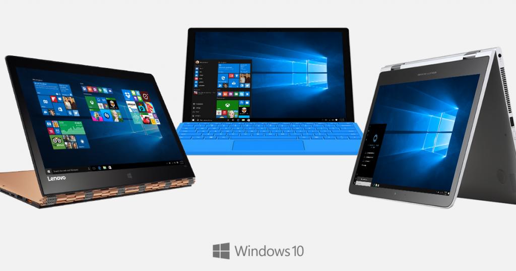 מחשבים חדשים מהיצרניות יגיעו בקרוב רק עם חלונות 10 (תמונה: מיקרוסופט)