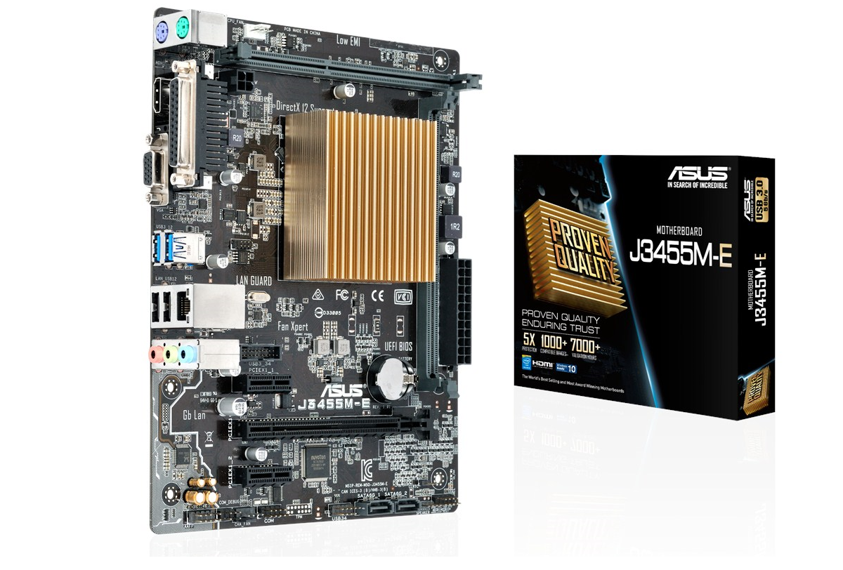 Photo of Asus presents: First motherboard based on Intel's Apollo Lake