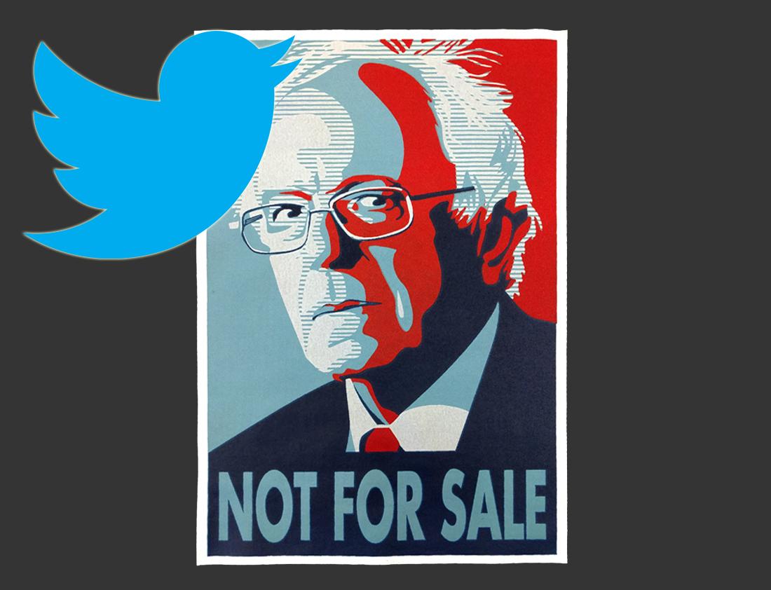 Photo of Bernie Sanders demonstrates: The power of the tweet