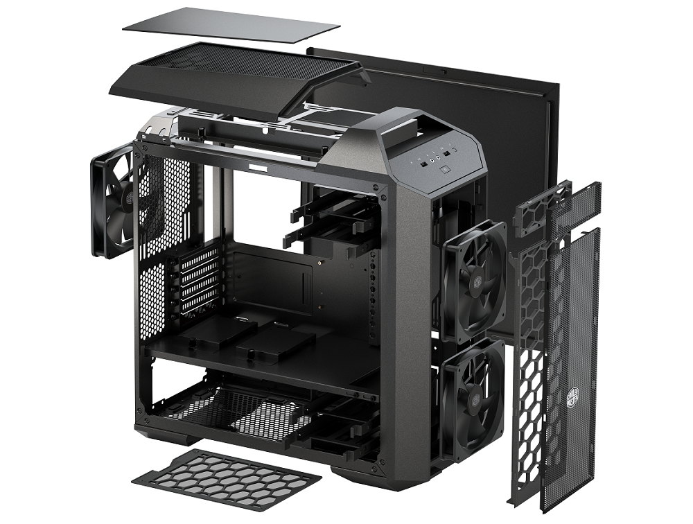 Photo of compact modularity: Cooler Master introduces the MasterCase Pro 3